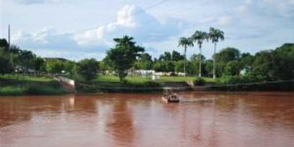 Antiga Vila de Vitória do Alto Parnaíba,atual Alto Parnaíba,vista da vizinha cidade Santa Filomena PI em 28/11/2018, Por KEILANE DA SILVA NUNES