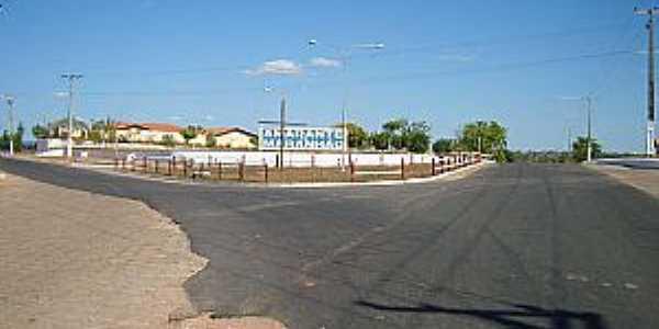 Amarante do Maranhão-MA-Entrada da cidade-Foto:mapio.net