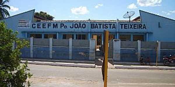Amarante do Maranhão-MA-Escola Bandeirante-Foto:Arthur Miranda