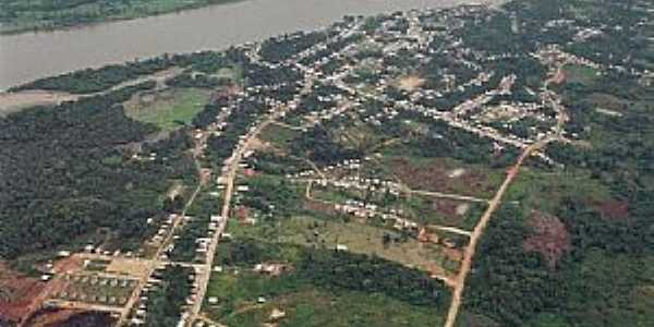 Jutaí-AM-Vista aérea-Foto:santelli