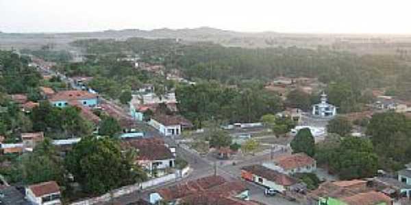 Anajatuba-MA-Vista aérea da cidade-Foto:José RS Muniz