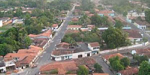Anajatuba-MA-Vista aérea do centro da cidade-Foto:José RS Muniz