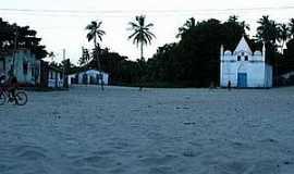 Apicum-Açu - Apicum-Açu-MA-Igreja no centro do distrito-Foto:Zaid Duarte