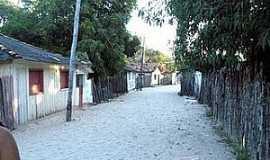 Apicum-Açu - Apicum-Açu-MA-Rua do distrito-Foto:Zaid Duarte
