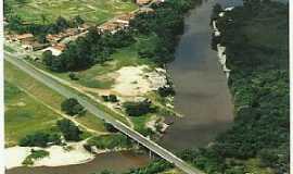 Araguanã - Araguanã-MA-Vista aérea da ponte sobre o Rio Turi-Foto:Vania Silva