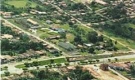 Araguanã - Araguanã-MA-Vista aérea do centro da cidade-Foto:Vania Silva