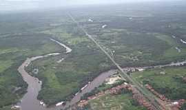 Araguanã - Araguanã-MA-Vista aérea do Rio Turi-Foto:Vania Silva