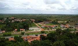 Araguanã - Araguanã-MA-Vista aérea parcial da cidade-Foto:Vania Silva