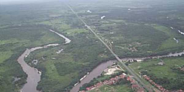 Araguanã-MA-Vista aérea do Rio Turi-Foto:Vania Silva