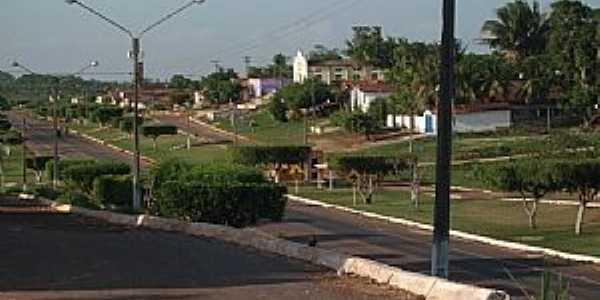 Araguanã-MA-Vista parcial da cidade-Foto:Vania Silva