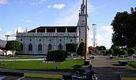 Lábrea - Catedral de N.Sra.de Nazaré em Lábrea-Foto:PAIVA