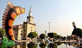 Lábrea - Lábrea-AM-Praça da Catedral-Foto:Edmar Barros