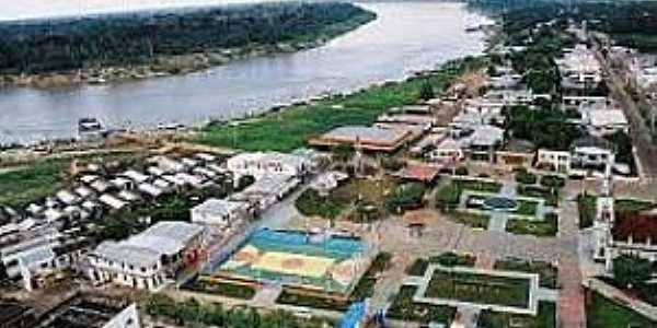 Lábrea-AM-Vista aérea da cidade-Foto:Cidade Brasil