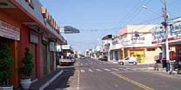 Rua central de Bacabal-Foto:Nando Cunha - 1
