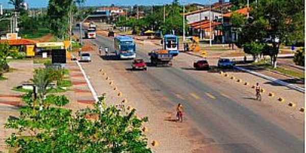 Bacabeira-MA-Centro da cidade-Foto:achetudoeregiao.