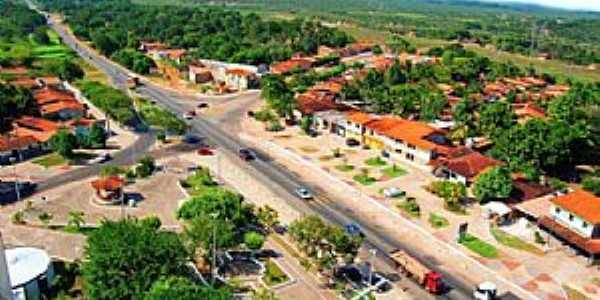 Bacabeira-MA-Vista aérea da cidade-Foto:geraldocastro.