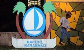 Bacuri - Bacuri-MA-Mural na Praça São Sebastião-Foto:Edilson Jr