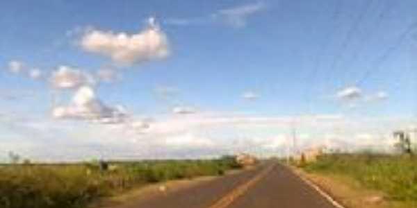estrada para Bacurituba, Por claudia