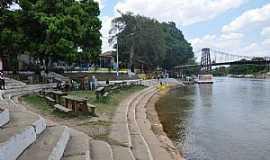 Balsas - Balsas-MA-Orla do Rio Balsas e a Ponte