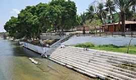 Balsas - Balsas-MA-Quiosque beira rio e a escadaria