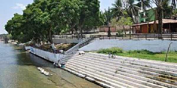 Balsas-MA-Quiosque beira rio e a escadaria