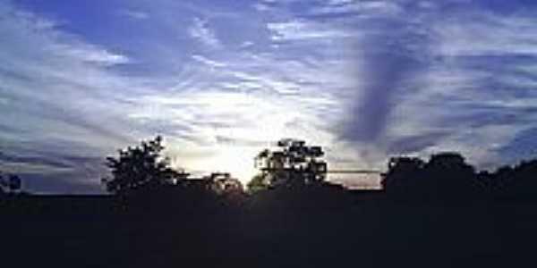 Pôr do Sol na localidade de Santa Maria Mãe de Jesus em Barão de Grajaú-MA-Foto:PEDRO PAULO