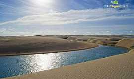 Barreirinhas - Barreirinhas-MA-Lagoa Bonita-Foto:Ricardo Junior