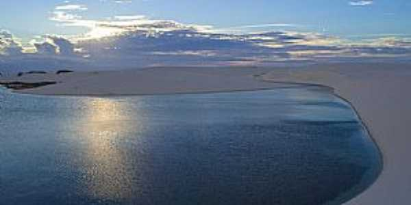 Barreirinhas-MA-Lagoa Azul-Foto:Ricardo Junior