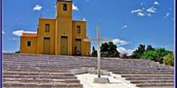 Igreja em Benedito Leite-Foto:Agamenon Pedrosa