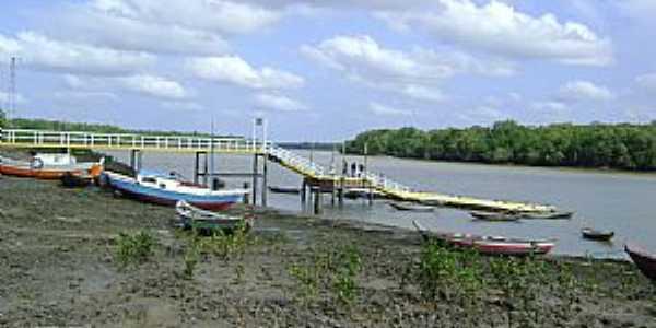 Atracadouro Flutuante em Paricatiua - Bequimão - Por pachecofama