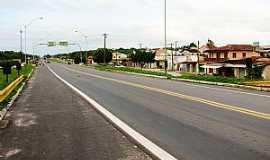 Boa Vista do Gurupi - Boa Vista do Gurupi-MA-Avenida principal-Foto:jeanderson