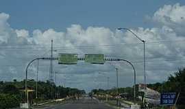 Boa Vista do Gurupi - Boa Vista do Gurupi-MA-Entrada da cidade-Foto:www.brasilgigante.com