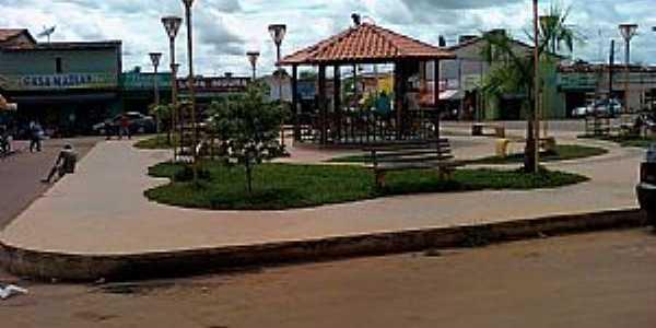 Bom Jardim-MA-Coreto na Praça do Mercado-Foto:Adriano Barros