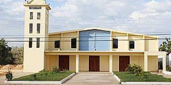 Bom Jardim-MA-Nova Igreja Matriz-Foto:www.agorasantaines.com.br