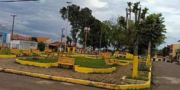 Bom Jardim-MA-Praça José Sarney-Foto:Adriano Barros