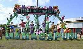 Manacapuru - Manacapuru-AM-Pórtico de entrada da cidade-Foto:portalamazonia.com