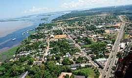 Manacapuru - Manacapuru-AM-Vista aérea da cidade-Foto:mochileiro.tur.br