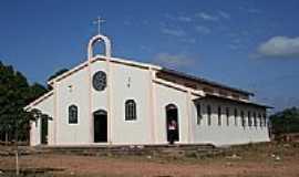 Bom Lugar - Igreja Matriz de Bom Lugar-MA-Foto:sergio