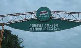 Manaquiri - Manaquiri-AM-Chegando na cidade-Foto:josalberto