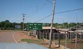 Manaquiri - Manaquiri-AM-Trevo de acesso-Foto:josalberto