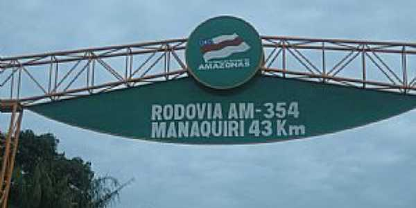 Manaquiri-AM-Chegando na cidade-Foto:josalberto