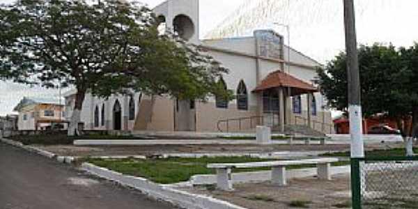 Manaquiri-AM-Matriz de São Pedro-Foto:Joao Altecir Nepomuceno