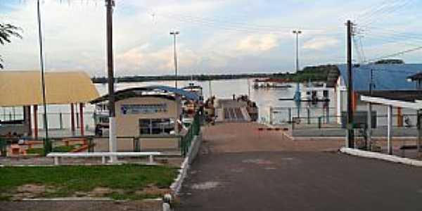 Manaquiri-AM-Porto de Manaquiri-Foto:Joao Altecir Nepomuceno