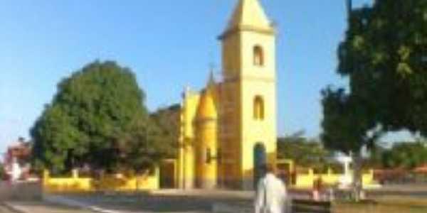 Cajapió - MA - Praça da matriz, Por Nellya