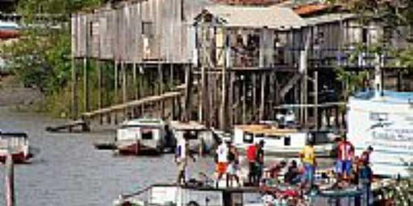 Desembarque de trabalhadores em Cândido Mendes-MA-Foto:Maurício Leonardi