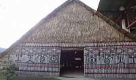 Manaus - Manaus-AM-Xapono Yanomami,Oca Índigena,Centro Cultural dos Povos da Amazônia-Foto:Pe. Edinisio Pereira…