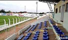 Caxias - Caxias-MA-Arquibancada do Estádio Duque de Caxias-Foto:Jose Wilson