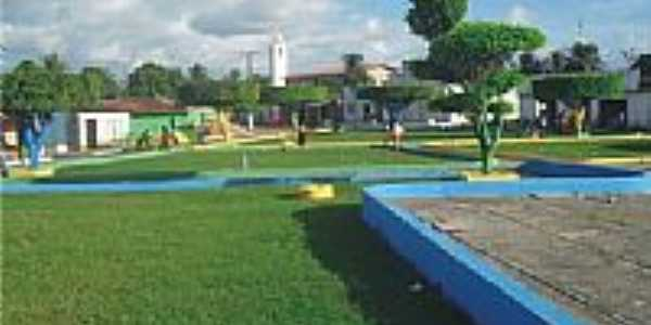 Praça central-Foto:moleculabrasil