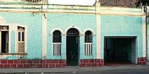 Chapadinha-MA-Antiga casa no centro da cidade-Foto:josé Ayres