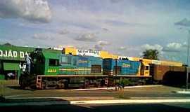 Cod� - Cod�-MA-Locomotiva na Esta��o-Foto:Antonio R. Rodrigues Neto